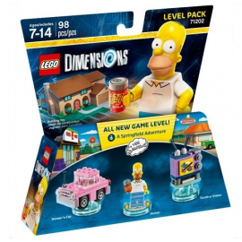 Pacchetto livello Homer Simpson - Lego Dimension 71202