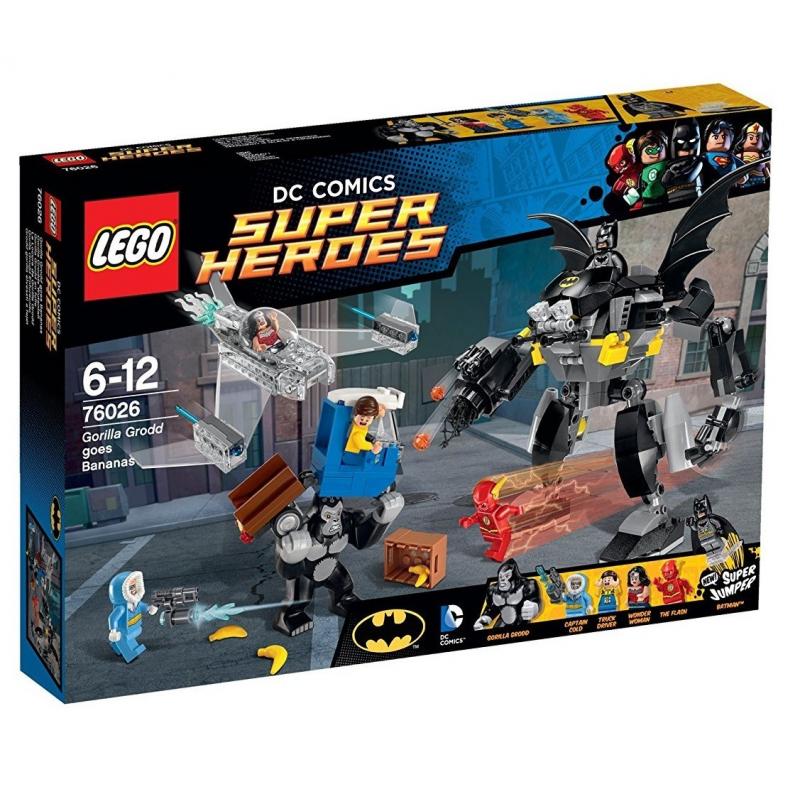 La furia di Gorilla Grodd - Lego DC Comics 72026
