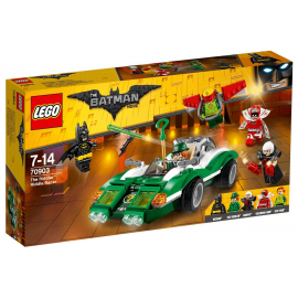 Il Riddle Racer di The Riddler (enigmista) - Lego Batman movie 70903