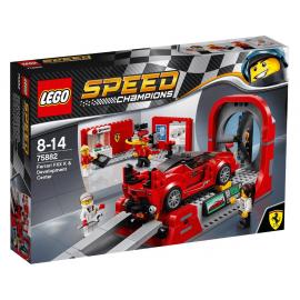 Ferrari FXX K e galleria del vento - Lego Speed champions 75882