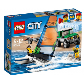 Pick up 4x4 con catamarano - Lego City 60149