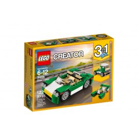 Decappottabile verde - Lego Creator 3in1 - 31056