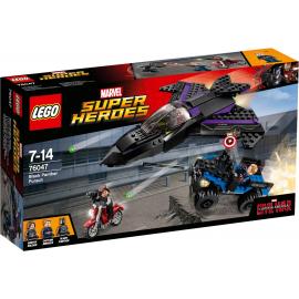 L'inseguimento di Pantera Nera - Lego Marvel Super Heroes 76047