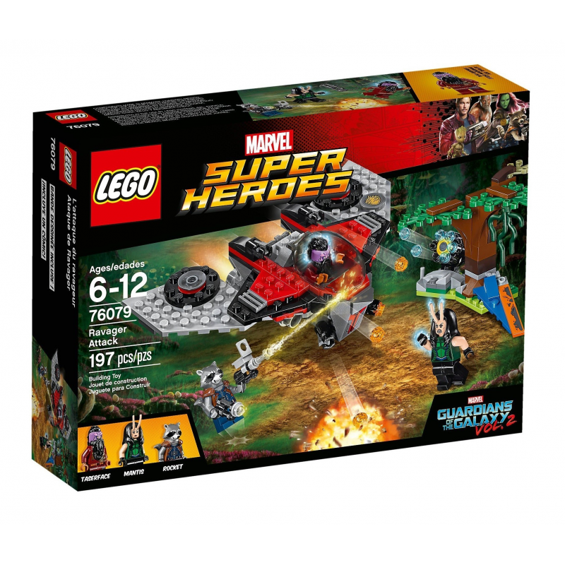 L'attacco del Ravager - Lego Marvel Super Heroes 76079