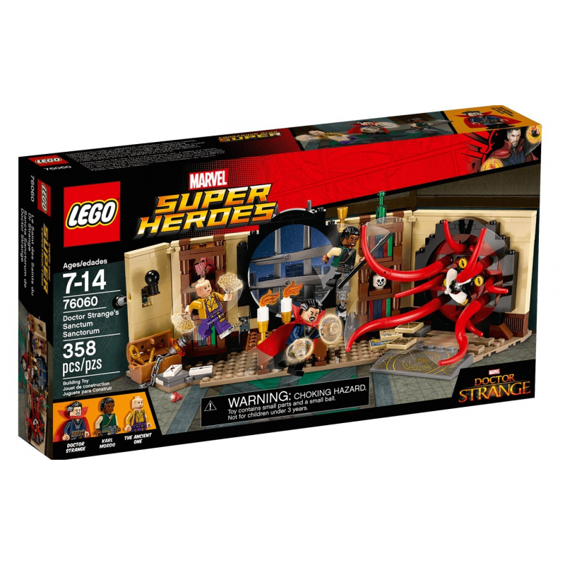 Il Sancta Sanctorum del Dottor Strange - Lego Marvel Super Heroes 76060