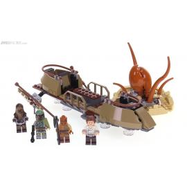 Fuga dal deserto sullo skiff - Lego Star Wars 75174