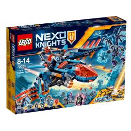 Il Falcon Fighter di Clay - Lego Nexo Knights 70351