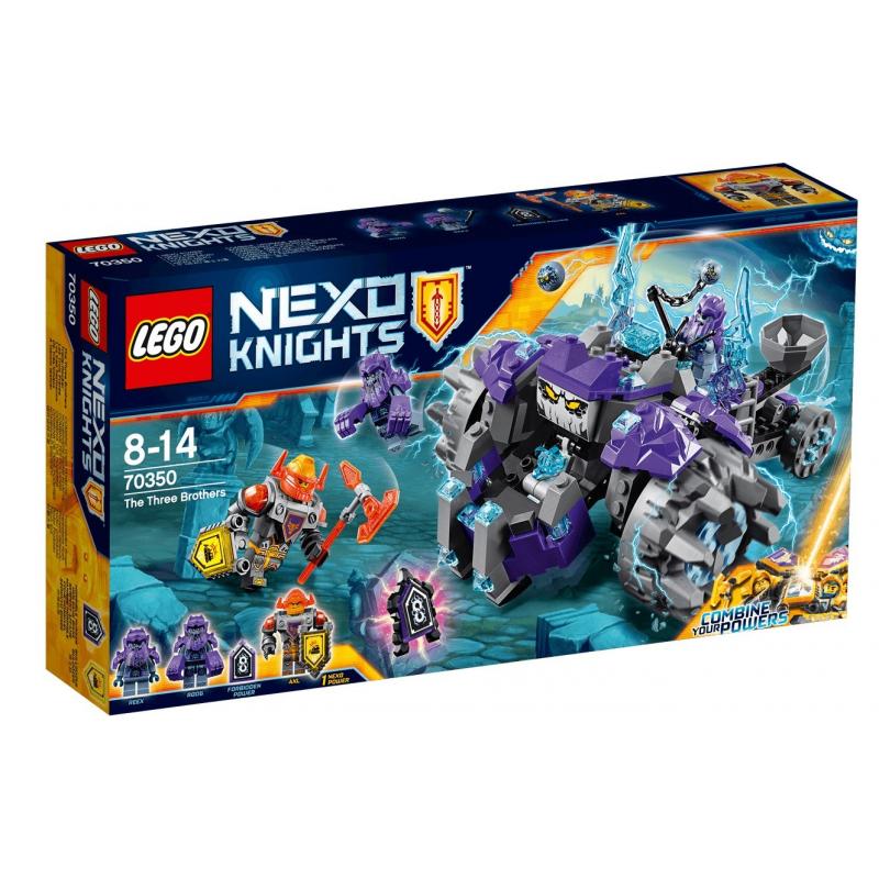 Tre Fratelli - Lego Nexo Knights 70350