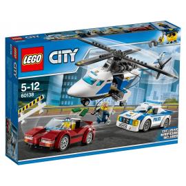 Inseguimento ad alta velocità - Lego City 60138
