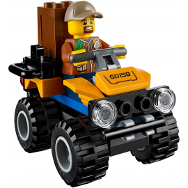 Elicottero da carico della giungla - Lego City 60158