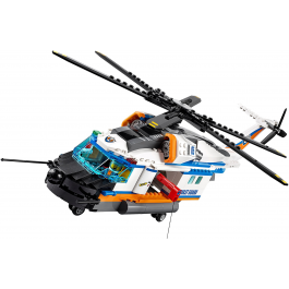 Elicottero della Guardia Costiera - Lego City 60166