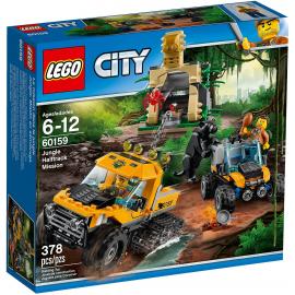 Missione nella giungla con il semicingolato - Lego City 60159