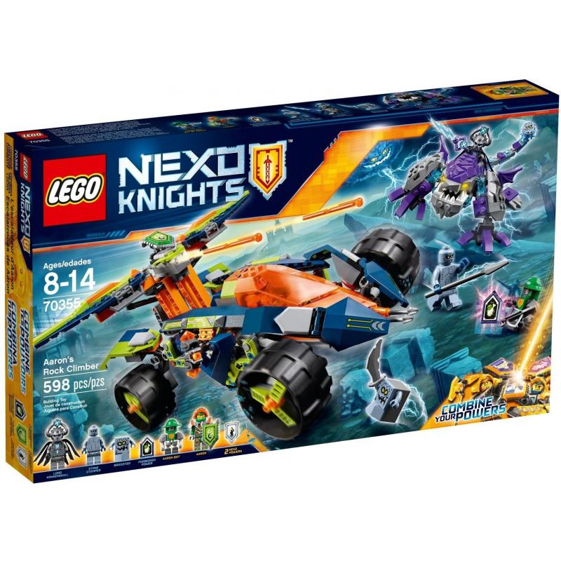 Scalarocce di Aaron - Lego Nexo Knights 70355