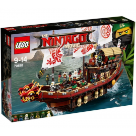 Vascello del Destino - Lego ninjago Movie 70618