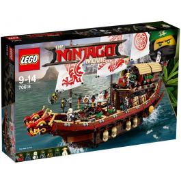Vascello del Destino - Lego ninjago Movie 70618