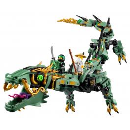 Drago Mech Ninja verde - Lego Ninjago Movie 70612