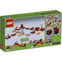 La ferrovia del Nether - Lego Minecraft 21130
