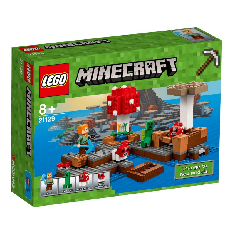 L'isola dei funghi - Lego 21129