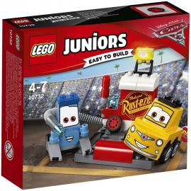 Il Pit Stop di Guido e Luigi - Lego 10732