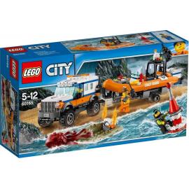 Unità di risposta con il fuoristrada 4x4 - Lego City - 60165