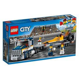 Trasportatore di Dragster - Lego City - 60151