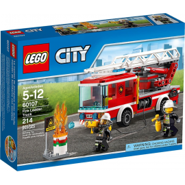 Autopompa dei vigili del fuoco - Lego City 60107