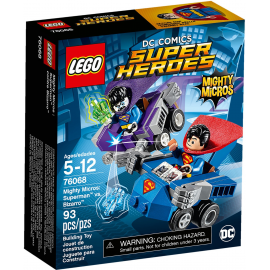 Mighty Micros: Superman™ contro Bizarro™ - Lego DC Comics 76068