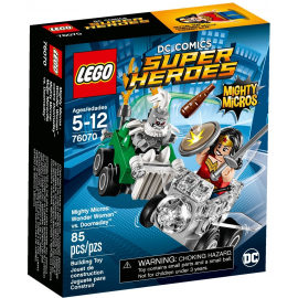 Mighty Micros: Wonder Woman™ contro Doomsday™ - Lego DC Comics Super Heroes 76070