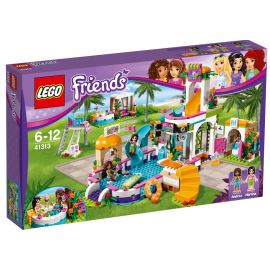 La piscina all'aperto di Heartlake - Lego Friends 41313