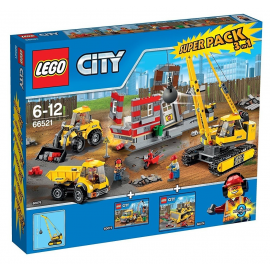 Superpack 3 in 1 (60076 + 60073 + 60074) - Lego City 66521