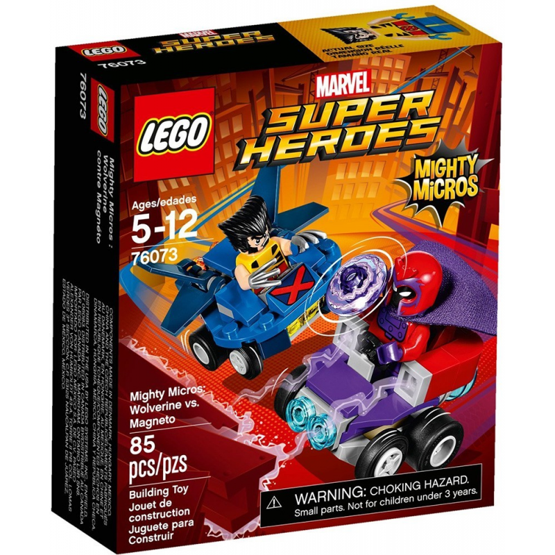 Mighty Micros: Wolverine contro Magneto - Lego Marvel Super Heroes 76073