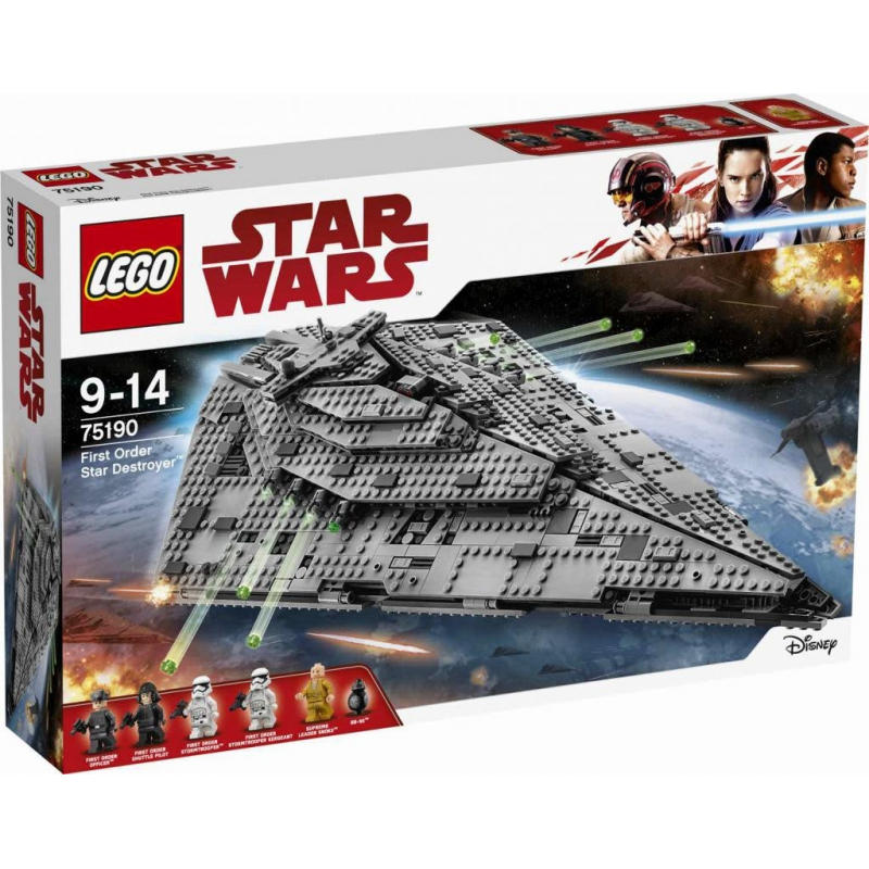 First Order Star Destroyer™ - Lego Star Wars 75190