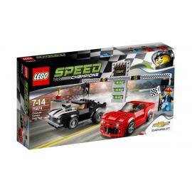 Gara di accelerazione Chevrolet Camaro - Lego Speed Champions 75874