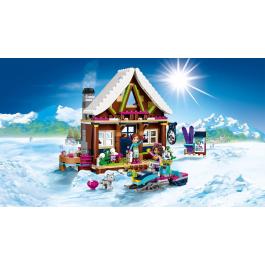Lo chalet del villaggio invernale - Lego Friends 41323