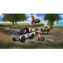 Team da corsa del Fuoristrada - Lego City 60148