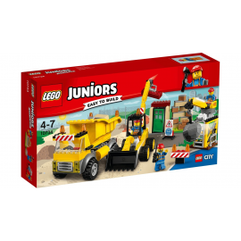 Cantiere di demolizione - Lego Juniors 10734