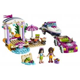 Il trasportatore di motoscafi di Andrea - Lego Friends 41316