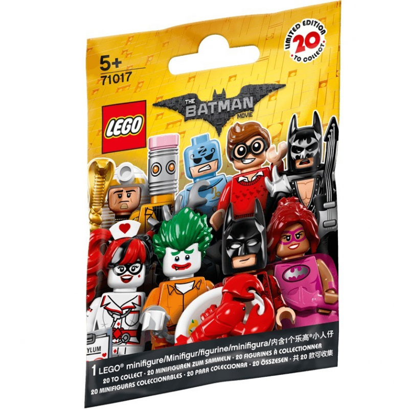 Minifigures The Lego Batman Movie - Lego 71017