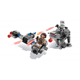 Ski Speeder contro Microfighter First Order Walker - Lego Star Wars 75195