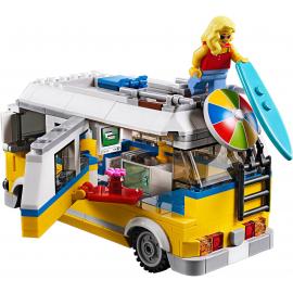 Surfer van giallo - Lego Creator 31079