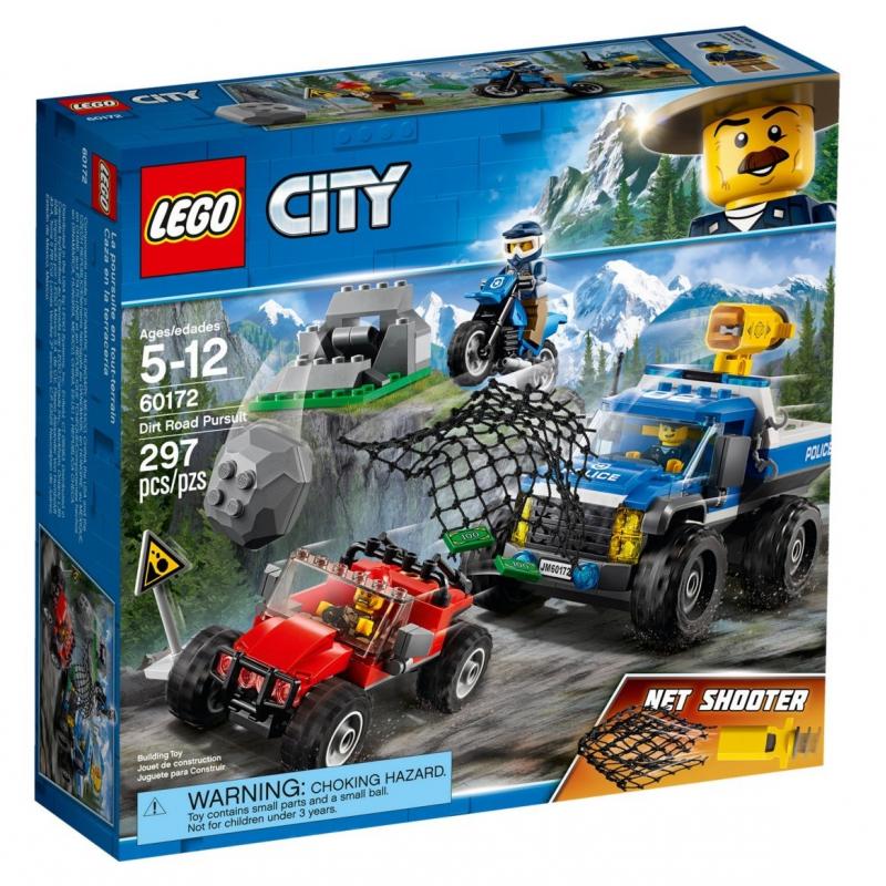 Duello fuori strada - Lego City 60172