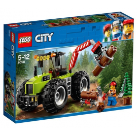 Trattore forestale - Lego City 60181