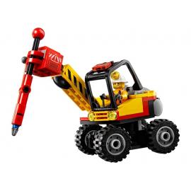 Spaccaroccia da miniera - Lego City 60185