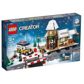 Stazione del villaggio invernale - Lego Creator 10259