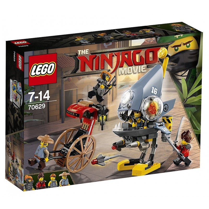 Attacco del Piranha - Lego Ninjago Movie 70629