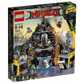 Il covo vulcanico di Garmadon - Lego Ninjago Movie 70631
