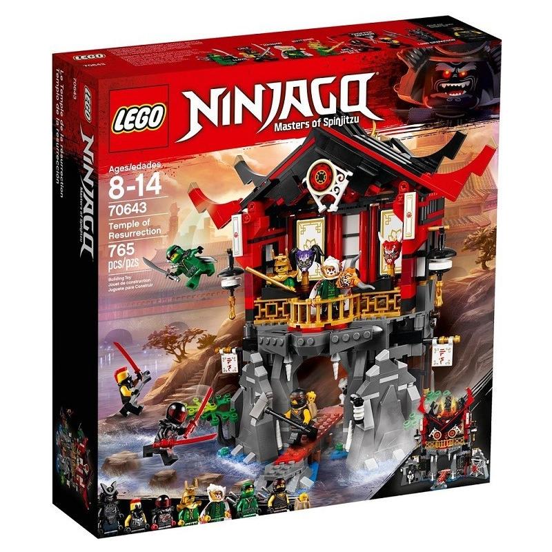 Il Tempio della Resurrezione - Lego Ninjago 70643