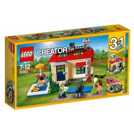 Vacanza in piscina modulabile - Lego Creator 31067