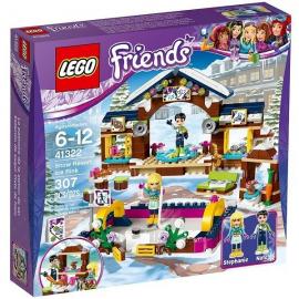 La pista di pattinaggio del villaggio invernale - Lego Friends 41322