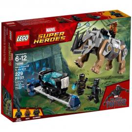 Resa dei conti con Rhino alla miniera - Lego Marvel SUper Heroes 76099